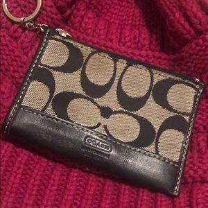 Coach change purse. New condition